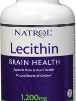 Natrol SOYA Lecithin Mineral Supplement, 1200 mg, 120-Softgels