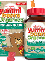 HERO NUTRITIONAL PRODUCTS Yummi Bears Organics Immunity Health - 45 count