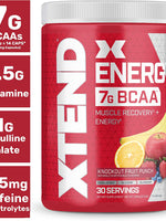 Xtend Energy Bcaas 30Svg 348Gm Fruit Punch