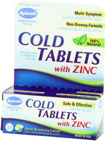 HYLAND'S Cold Tablets with Zinc - 50 QUICK DISSOLVING TSBLETS