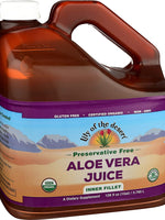 Lily Of The Desert Organic Aloe Vera Juice Preservative Free - 1 Gallon