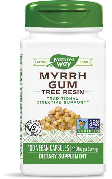 NATURES WAY MYRRH GUM 100 CAPS