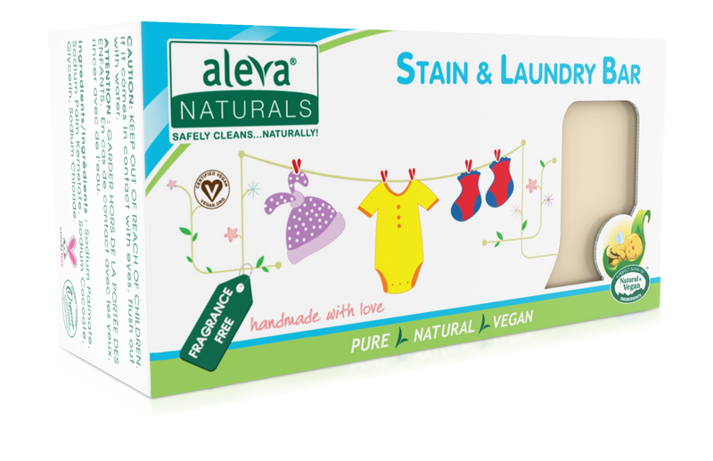 Aleva Naturals Stain and Laundry Bar 7.76 Oz
