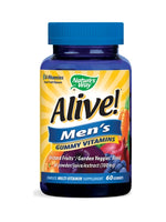 Nature'S Way Alive! Men'S Gummy Vitamins  60 Gummies