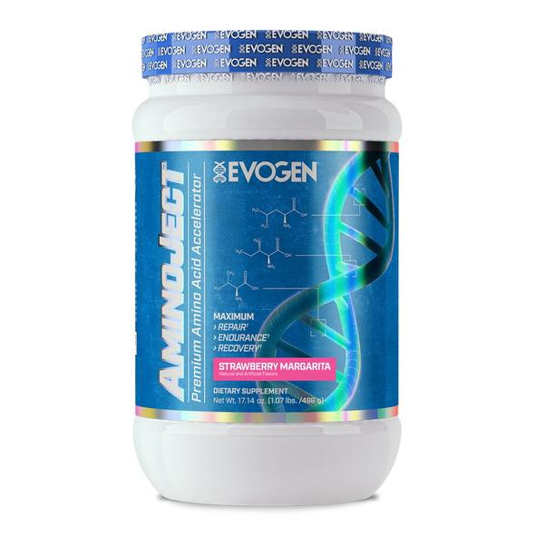 EVOGEN AMINOJECT Strawberry Margarita, 30 SERVINGS