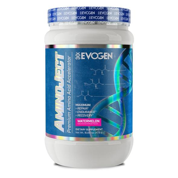 EVOGEN AMINOJECT WATERMELON, 30 SERVINGS