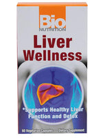 BIO NUTRITION LIVER WELLNESS 60 VEG CAPS
