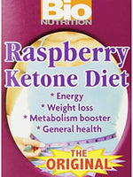 1+1 Offer Bio Nutrition 100% Natural Raspberry Ketone - 60 Vegetable Capsules