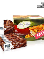 BUY NOVO PROTEIN WAFER BAR & GET IDEAL PROTEIN BBQ CRISP CHIPS FREE