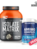 BUY WHEY ISOLATE MATRIX & GET AMINO COMPLEX FREE