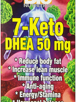 Bio Nutrition 7 Keto Dhea 50Mg 50 Veg Caps
