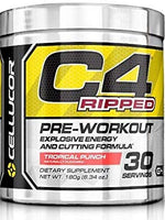 Cellucor C4 Ripped, Tropical Punch 30 Svg, 180 Gm