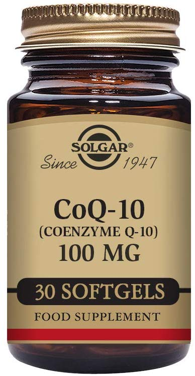 Solgar Coq-10 (Coenzyme Q-10) 100 Mg,30 Servings - Expiring in December