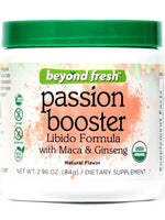 BEYOND FRESH - PASSION BOOSTER (LIBIDO FORMULA WITH MACA & GINSENG), NATURAL FLAVOR , 84 GRAMS