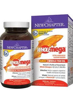New Chapter Wholemega 1000 Mg 60 Sg