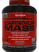 Musclemeds Carnivor Mass Chocolate Fudge 6 Lbs.