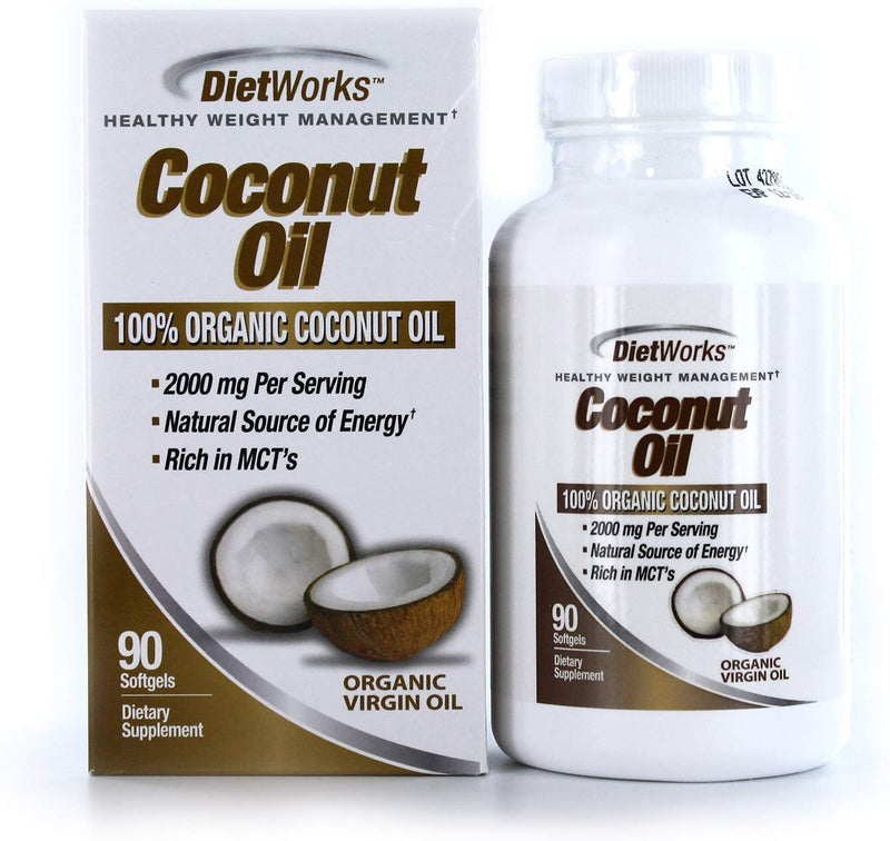 Windmill Dietworks Coconut Oil, 90 Soft Gels (Expiring in December)