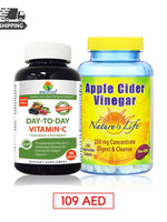Combo Offer APPLE CIDER VINEGAR & DAY TO DAY VITAMIN C
