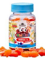 Sunshine Nutrition Cool Gummies Omega3 Dha/Epa, 60 Gummies