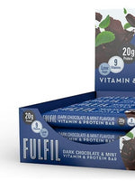 Fulfil Dark Chocolate & Mint Vitamin And Protein Bar 55G