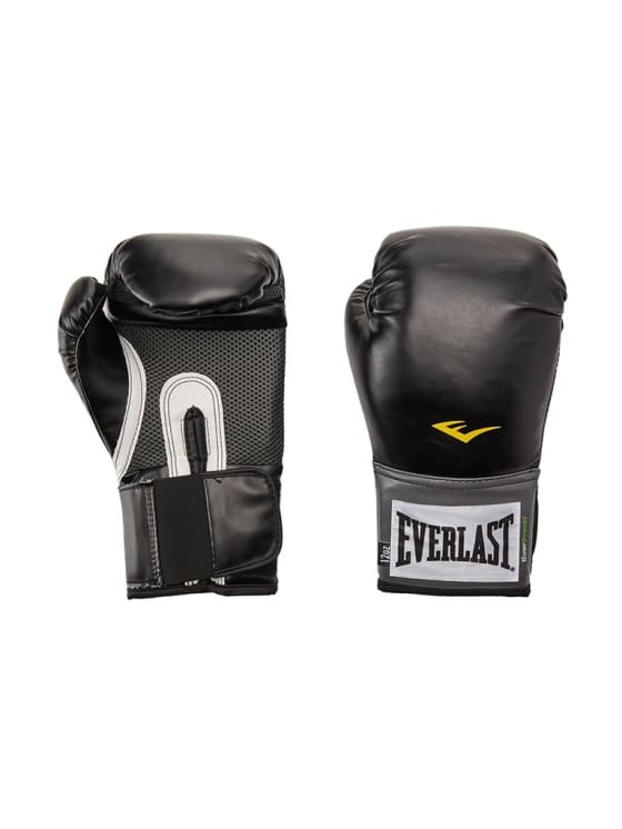 Everlast Pro Style Training Gloves - Black - 16 Oz