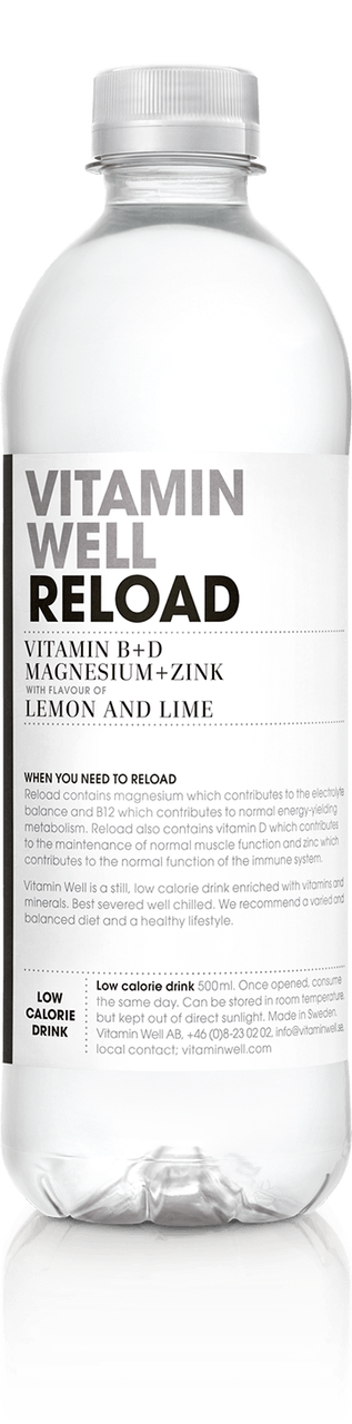 Vitamin Well Reload  Lemon And Lime Flavour Box