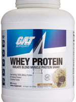 Gat Whey Protein Isolate Blend, Cookies And Cream, 5 Lbs