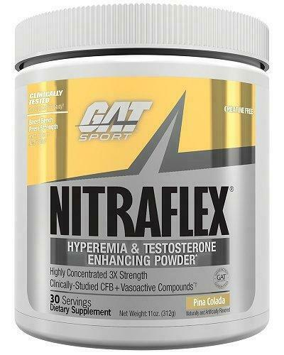 GAT Nitraflex 30 Svg 300 Gm Pina , Dietary Supplement