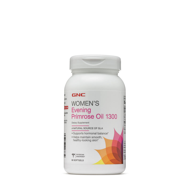 Gnc Women's Evening Primrose Oil 1300 Mg, 90 Softgels