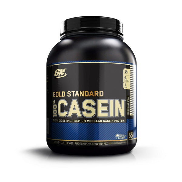 Optimum Nutrition Gold Standard 100% Casein Protein Powder, Cookies And Cream, 4 Lbs
