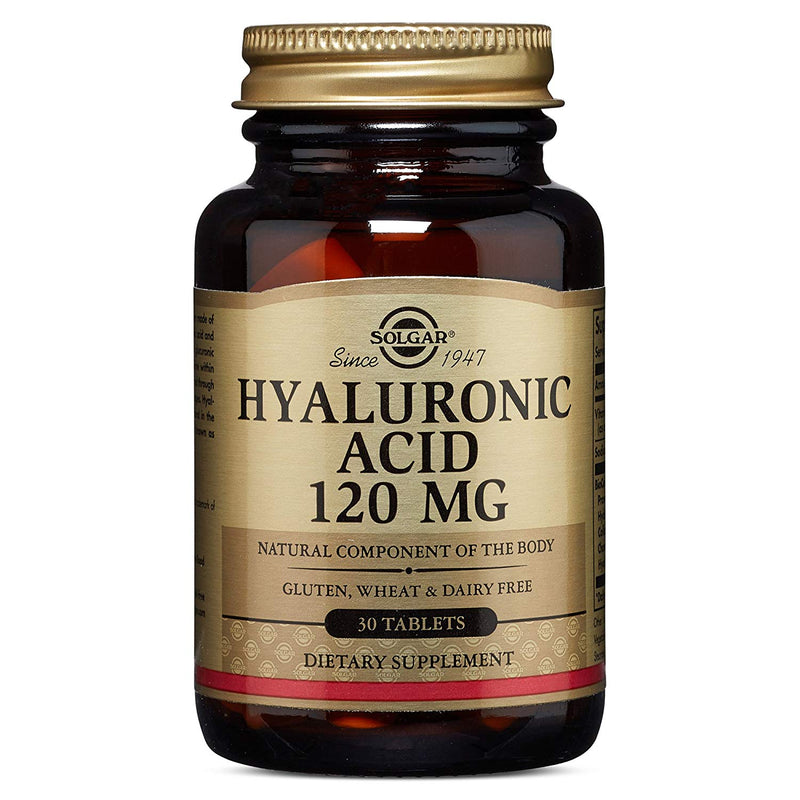 Solgar €€Œ Hyaluronic Acid 120 Mg, 30 Tablets
