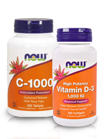 Immunity Booster Combo with VITAMIN C-1000 & VITAMIN D-3