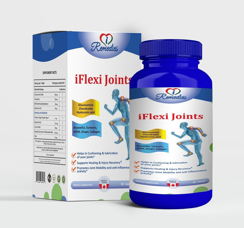 I Remedies iFlex Joints 90Tablets