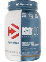 Dymatize Iso 100 Hydrolyzed Protein Powder, Gourmet Chocolate, 1.6 Lb