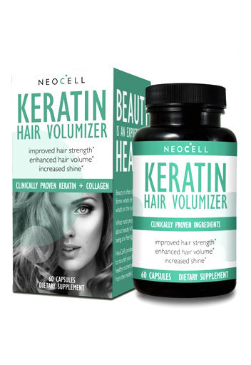 Neocell Keratin Hair Volumizer 60 Caps