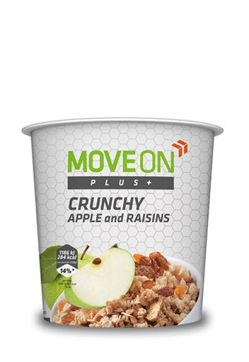 Move On Plus Crunchy 70g??�? Apple And Raisins