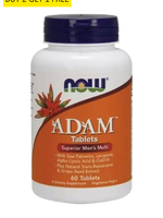 Now Foods, Adam Men'S Multiple 60Tabs