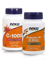 Immunity Booster Combo with VITAMIN C-1000 & PROBIOTIC-10