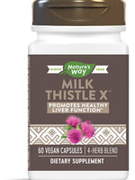 NATURES WAY MILK THISTLE EXTRACT 60 VEG CAPS