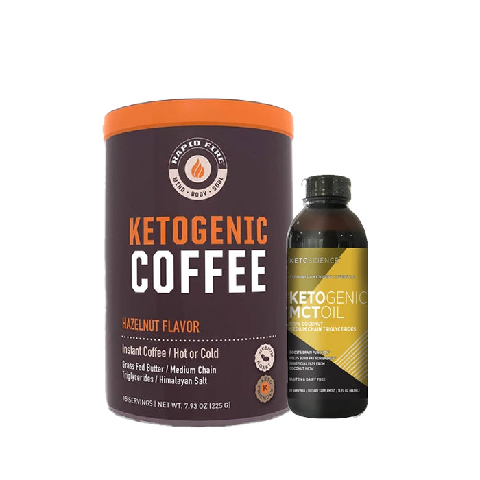 Ketogenic Coffee + Ketogenic MCT Oil Combo
