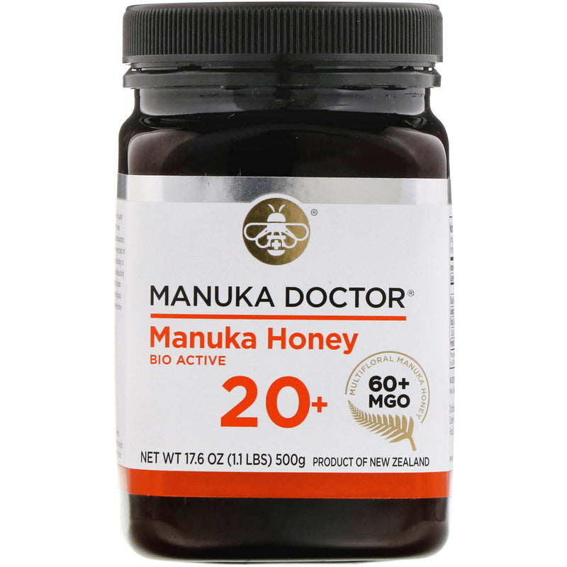 Manuka Doctor, 20+ Bio Active Manuka Honey,  (500 G)