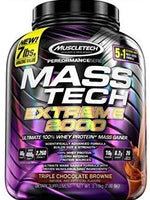 Muscletech Mass Tech Extreme 2000 7Lb Tri Chocolate Brownie