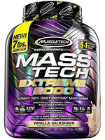 Mass Tech Extreme 2000, 7 Lbs, 100% Whey Protein + Mass Gainer