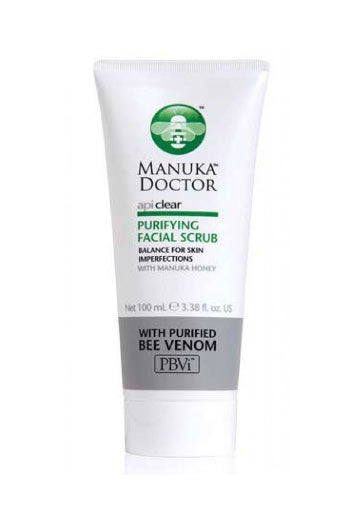 Manuka Doctor Apiclear Purifying Facial Scrub 100 Ml