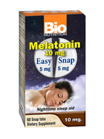 Bio Nutrition, Melatonin 10Mg 60Tabs