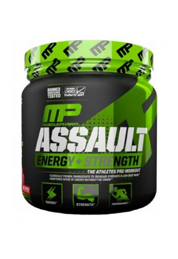 Musclepharm Assault Sport - Blue Raspberry, 30 Servings