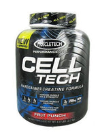 Muscletech Celltech Performance Creatine Powder  -  Fruit Punch, 6 Lbs
