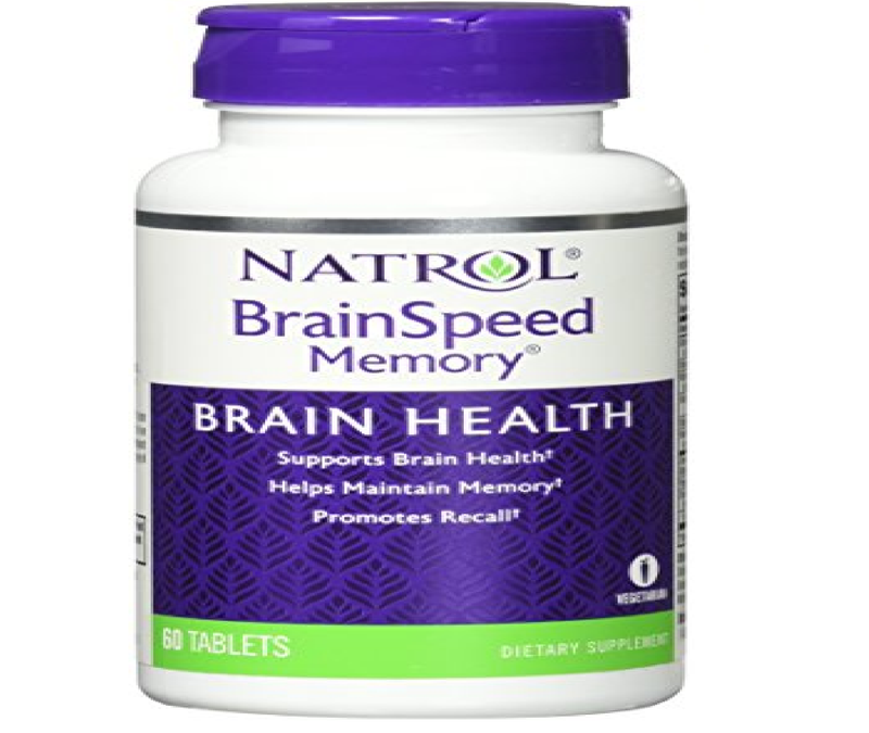 Natrol Brainspeed Memory Tablets, 60 Coun