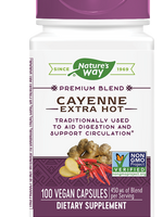 NATURES'S WAY CAYENNE EXTRA HOT 100 CAPS