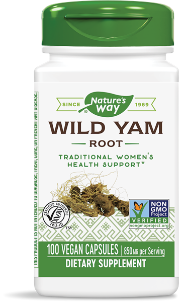 NATURES'S WAY WILD YAM 100 CAPS